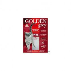 Golden Grey SUPER klumpende kattegrus. 14 kg