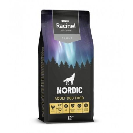 PALLEKØB - Racinel Dog Adult Chicken - Kornfri 30 x 12 KG.