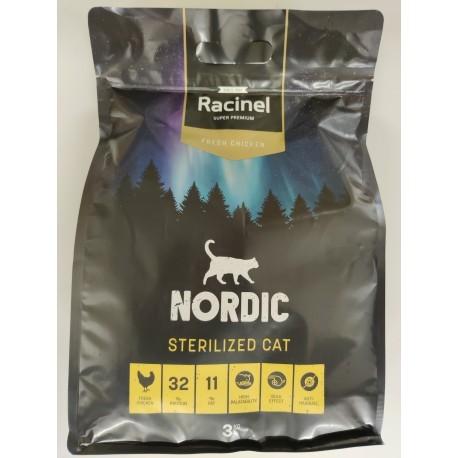 PALLEKØB - Racinel Cat Sterilized FC - 72 x 3 kg